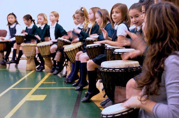 Grade 3 French African Drumming