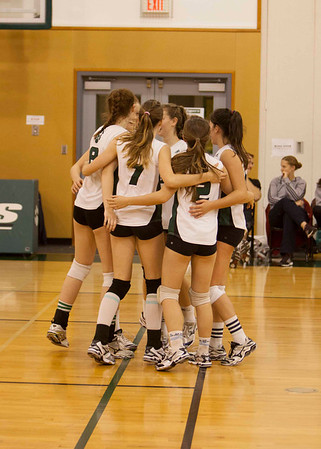 Sr. Volleyball Team at Western Championships this week